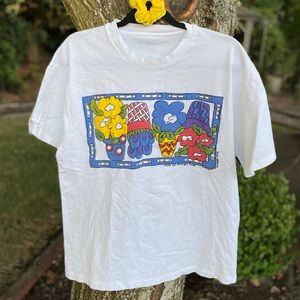 Vintage Housser T Shirt '95 Pots of Posies Pose